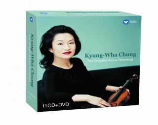 KYUNG-WHA CHUNG: THE COMPLETE WARNER RECORDINGS  [CD album]